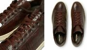 Tom Ford Warwick Lizard Sneakers Shoes Sneakers Trainers 7/41