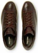 Tom Ford Warwick Lizard Sneakers Shoes Sneakers Trainers 43/9