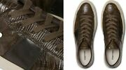 Tom Ford Cambridge Lizard Eidechse Sneakers Shoes Sneakers Trainers 42