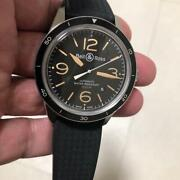 Bell And Ross Sports Heritage Br123-92-sp Andagrave Remontage Automatique Date Homme W/box