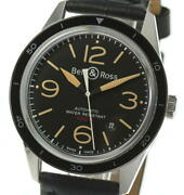 Bell And Ross Sport Heritage Date Br123-92 Self-winding Black Dial Stainless Menand039s