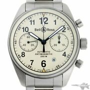 Bell And Ross Vintage 126 Chronograph Automatic Cal.7750 126.s Ss