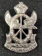 South African Railways And Harbour Brigade Military Badge
