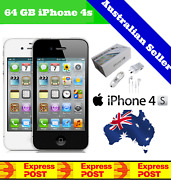New And Sealed Apple Iphone 4s   Factory Unlocked   White Black 64gb 32gb 16gb
