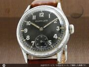 Glycine Small Second Military German Army Dh Cal.1130 Vintage Watch 1940and039s