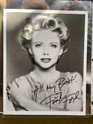 Faith Ford - Signed Autograph Headshot Black And White Photo - Actress