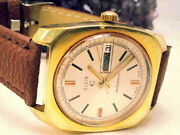 Sharp 1960and039s Elgin Automatic Vintage Watch In Excellent Condition - Swiss Made