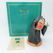Wdcc Snow White And The Seven Dwarfs Witch Take The Apple Dearie Event Sculpture