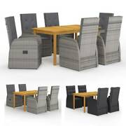Garden Dining Set Outdoor Table Chair Set Patio Furniture Set 4/6x Chairs Seat