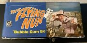 1968 Donruss The Flying Nun Complete Box W/ 24 Packs 5 Cent Sally Field Rare