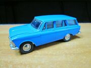 Collectible Soviet Moskvich 427 Black Salon Toy Car 143 Scale Model Ussr Russia