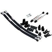 Ridetech 1973-1987 C10 Composite Leaf Spring And Hq Shock Kit 11364810