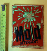 Vintage 1970s Topps Wacky Packages Sew-on Cloth Patch Andldquomoldandrdquo Detergent Spoof