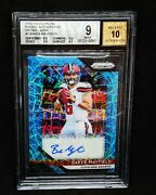 2018 Panini Prizm Baker Mayfield Lazer Auto Bgs 9/10 Browns 9.5 Subs X3 Ssp /20