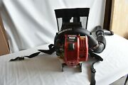 Craftsman 79401 32cc 4 Cycle Gas Powered Backpack Leaf Blower Speed Start - Read