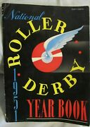 1951 National Roller Derby Yearbook Panthers Chiefs Jets Jolters Red Devils Wes