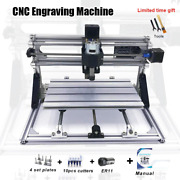 Cnc Engraving Machine With Er11 Grbl1.1 Diy Accessories Laser Cutter Pcb Pvc
