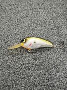 Bomber Flat A Crankbait Fishing Lure Custom Painted And Foiled