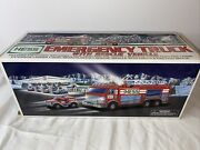 Nos Hess 2005 Emergency Fire Truck With Rescue Vehicle New In Box