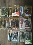 Mcfarlane Spawn Mixed Lot Of 7 Action Figures