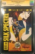 Darwyn Cooke And Amanda Conner Signed Cgc 9.8 Ss Before Watchmen Silk Spectre 1