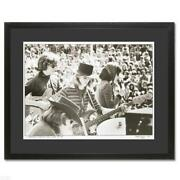 Jefferson Airplane Giclee Photo Signed By Peter Simon Framed Coa Starship