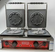 Sgs Wb-25-de Bakery And Catering Equipments Commercial Waffle Machine