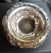 And Co. Sterling Silver Blackberry 10 Fruit Bowl 1890-1907
