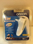 Omron Mc 514 Ear Thermometer With Advanced Temperature Scanning, New Sealed