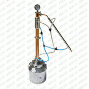 5 Gallon Still With 2 Copper And Stainless Reflux Column, W/cooling Kit