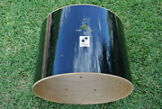 Sonor Force 2001 22 Black Bass Drum Shell For Your Set Lot M998