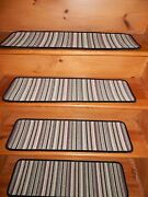13 = Step 9x 30 + 23x 30 Landing Woven Wool Rugs Staircase Stair Treads .