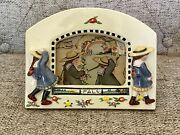 Mary Engelbreit Pals Picture Frame Little Girls Floral Tabletop Ceramic 3d
