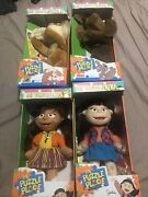 """Fisher Price Puzzle Place 14"""" Dolls/pets Lot In Original Boxes Vintage"""