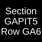 4 Tickets System Of A Down Korn And Faith No More 10/23/21 Los Angeles Ca
