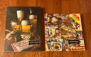 Lot Of 2 Brand New Sealed Vintage Springbok Budweiser Jigsaw Puzzles 500+ Pieces