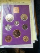 Pre Decimal 1970 Coinage Of Great Brit And North Ireland Proof Set.8 Coins Set