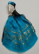Monster High Doll Clothes 13 Wishes Frankie Stein Blue Top Only No Neck Piece