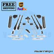 6 4 Link System W/ Shocks Fabtech For Ford F350 4wd 2017