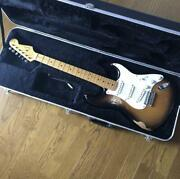 Fender Usa American Vintage Thin Lacquer 2cs Stratocaster With Hard Case Used