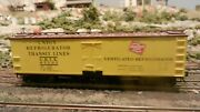 Accurail Ho Milwaukee Road Wooden Reefer, Upgraded Ex