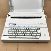 Vtg Usa Smith Corona Xl2500 Spell Right Electric Typewriter 7.a4