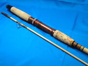 Vintage Shakespeare 2 Pc. 7and039 Spinning Rod Med. Action Usa Super Fine Condition