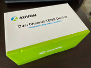 Auvon Dual Channel Tens Unit Muscle Stimulator Machine With 20 Modes New