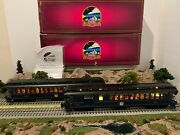 Mth 20-3594 B And C Baltimore And Ohio 64and039 Woodsied Passenger And Combine Cars Nib