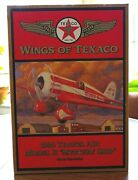 Wings Of Texaco 1930 Travel Air Model R Mystery Ship Airplane Bank 5th In Series