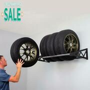 Saferacks Tire Rack, Holds Up To 400 Lbs., Wall Mounted Tire Storage