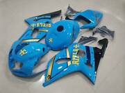 New Fairings + Tank Cover + Bolts Set For Gsxr600 Gsxr750 2001-2003 05
