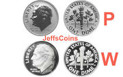2015 Wandp March Of Dimes Reverse Proof Dime 2 Coins Only No Silver Dollar Via Dm5