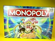 Sailor Moon Monopoly Limited Edition Hasbro 2018 New Sealed
